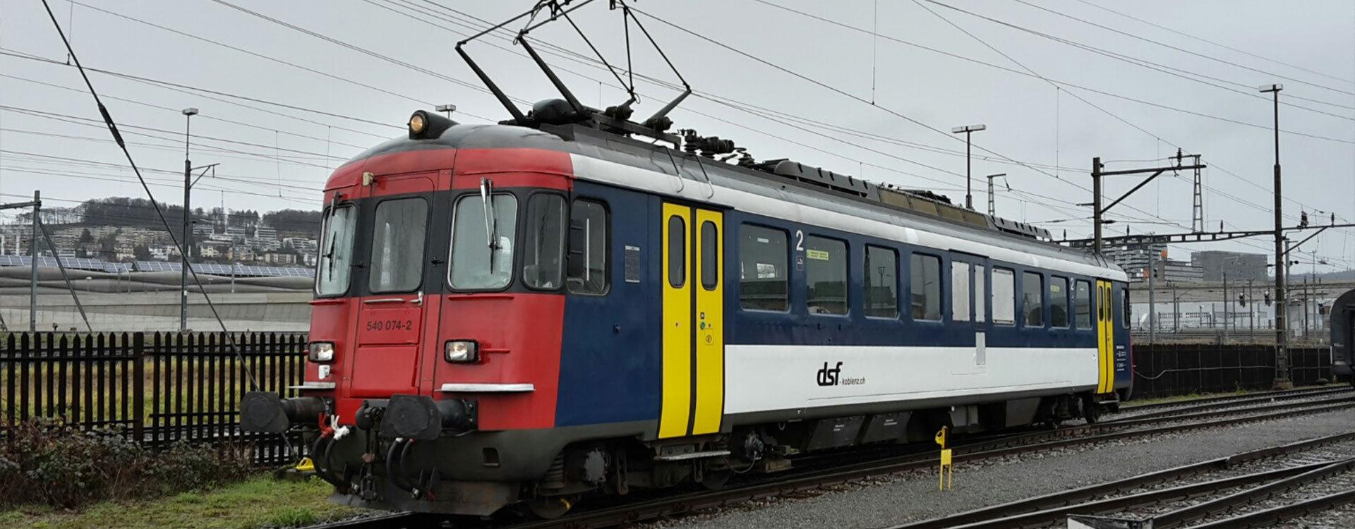 Triebwagen - Oensingen-Balsthal-Bahn AG