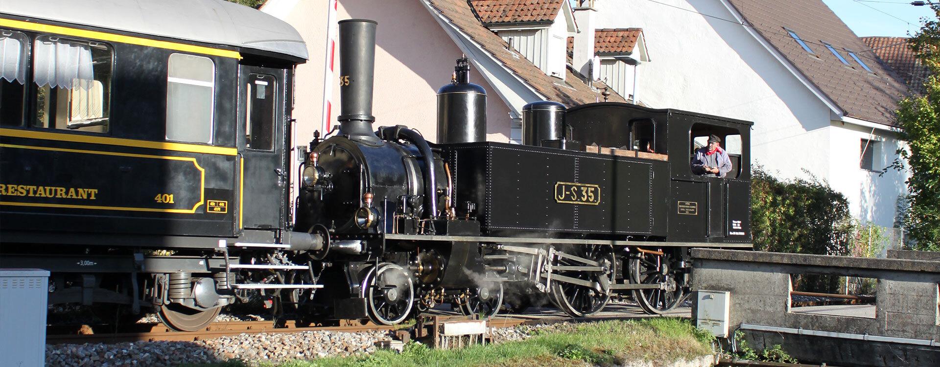 Unsere Flotte - Oensingen-Balsthal-Bahn AG