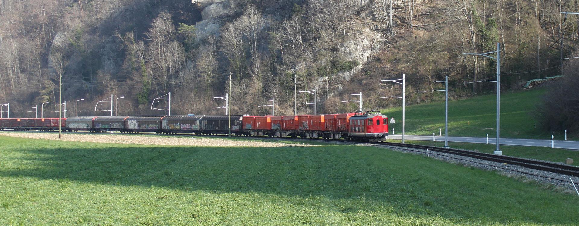 Güterverkehr - Oensingen-Balsthal-Bahn AG