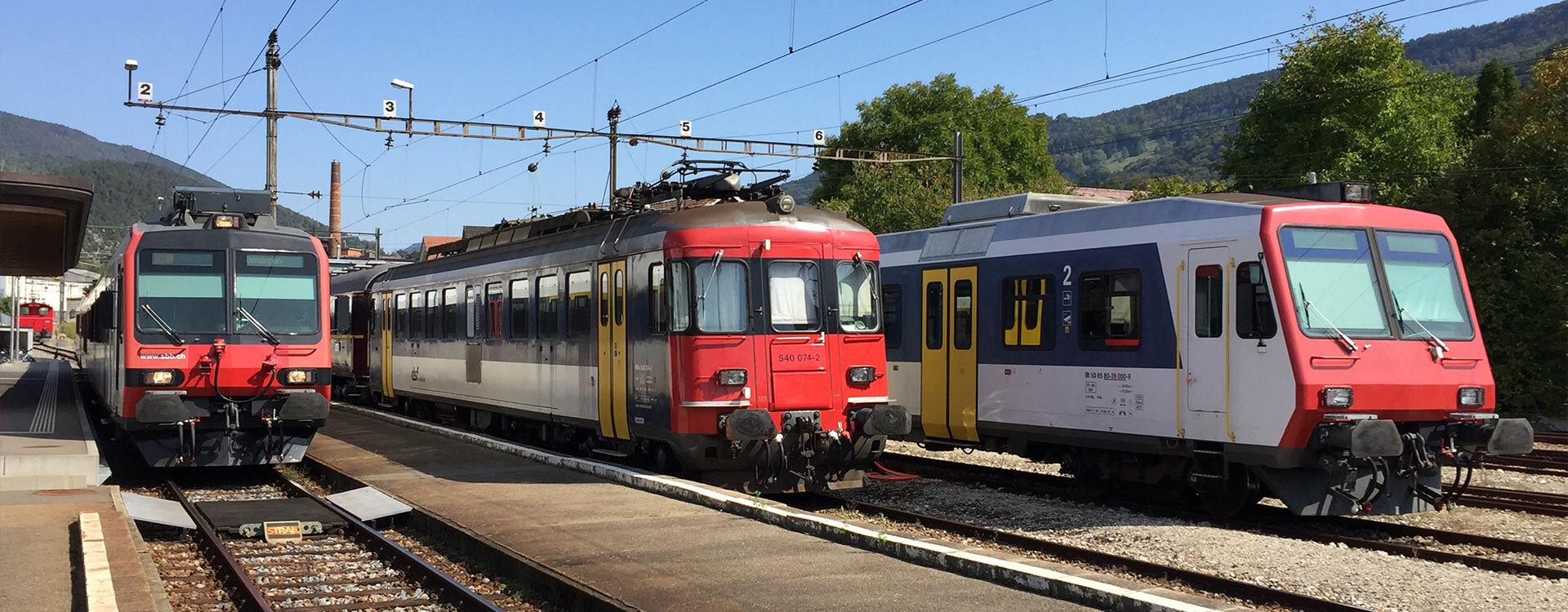 Reisen mit Gepäck - Oensingen-Balsthal-Bahn AG