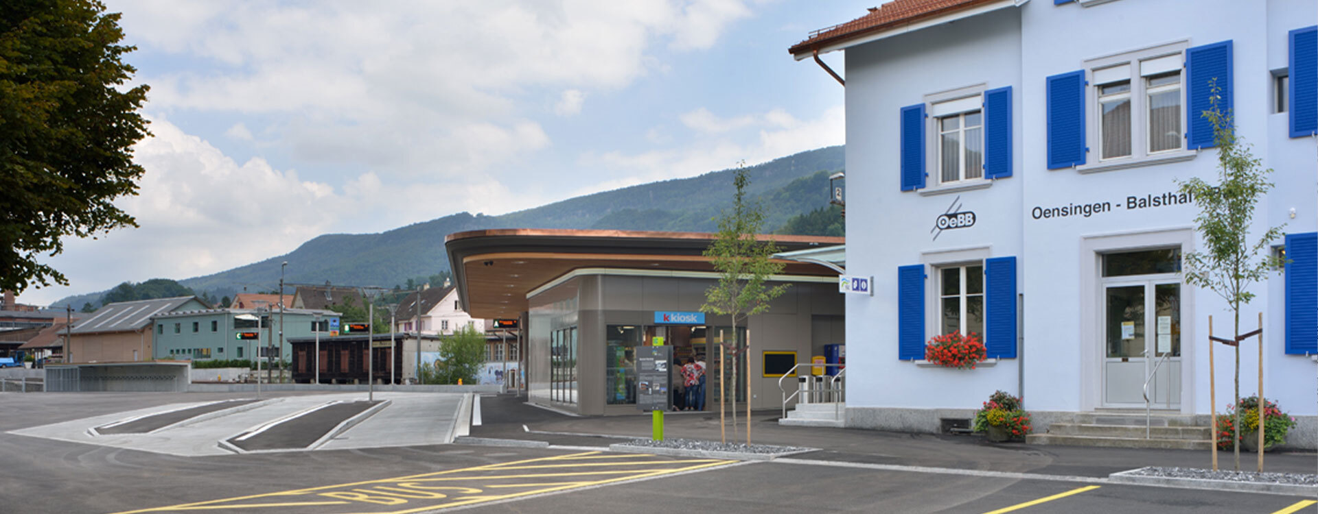 Reisezenter Balsthal - Oensingen-Balsthal-Bahn AG